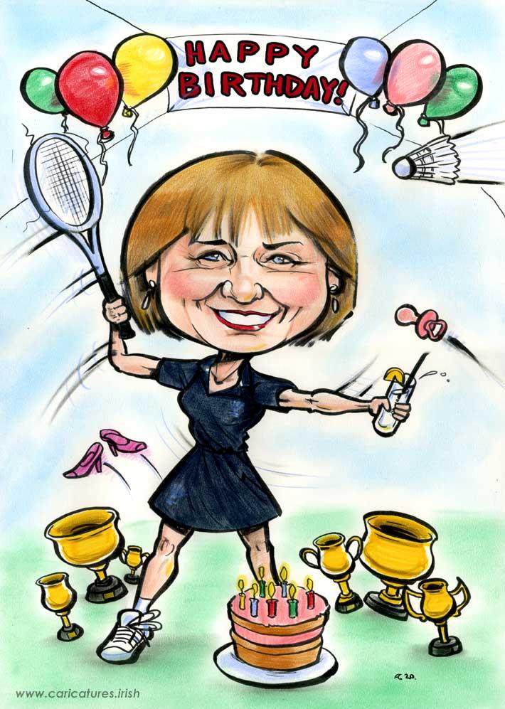 badminton birthday party ideas