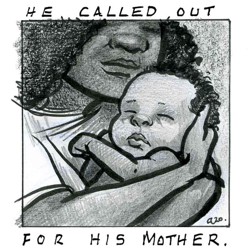 he called out for his mother anti racism cartoon optimised