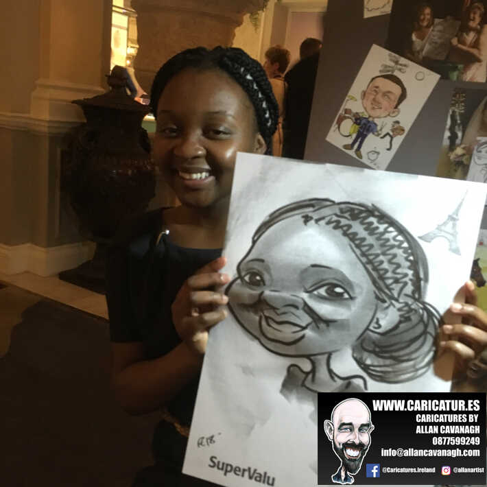 corporate entertainment ideas killarney kerry ireland caricature artist branding opportunity 17