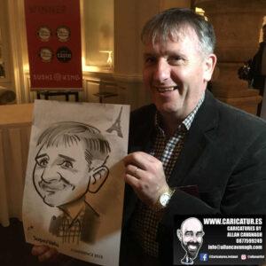 corporate entertainment ideas killarney kerry ireland caricature artist branding opportunity 19