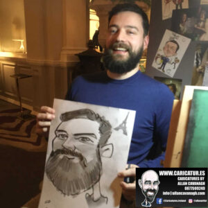 corporate entertainment ideas killarney kerry ireland caricature artist branding opportunity 22