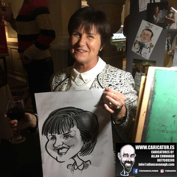 corporate entertainment ideas killarney kerry ireland caricature artist branding opportunity 29