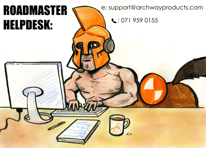 roadmaster helpdesk contact details