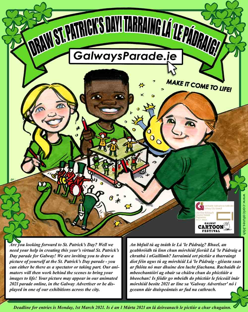 GALWAY CITY COUNCIL PATRICKS DAY