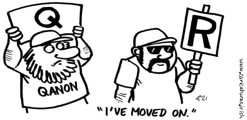 life after QANON cartoon