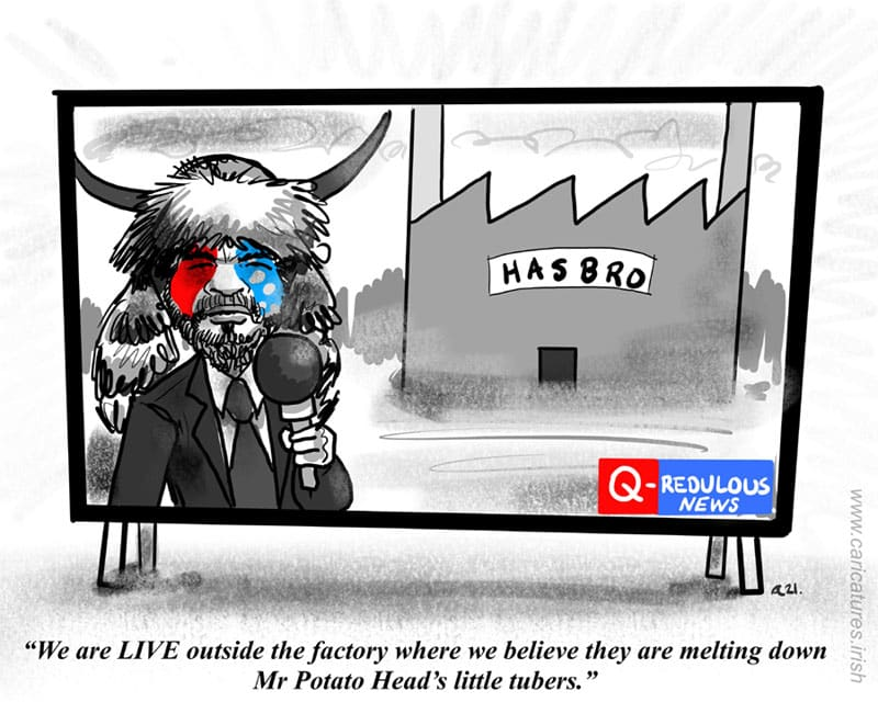 Mr Potato Head Controversy Conservatives USA cartoon