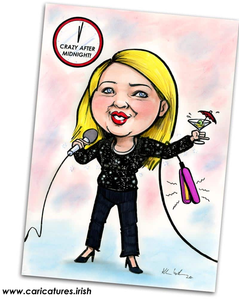 personalised caricatures from photos ireland