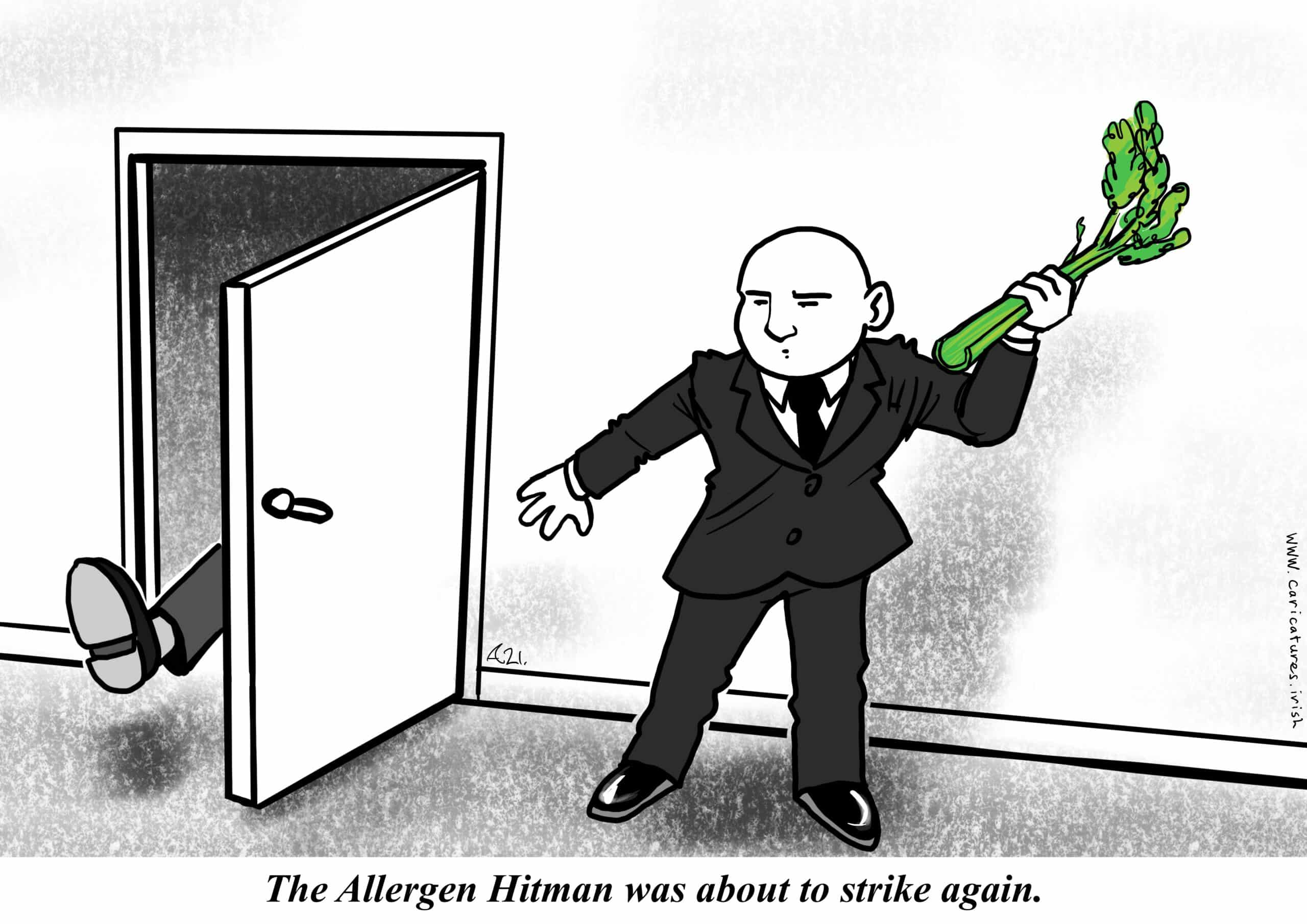 HITMAN CARTOON