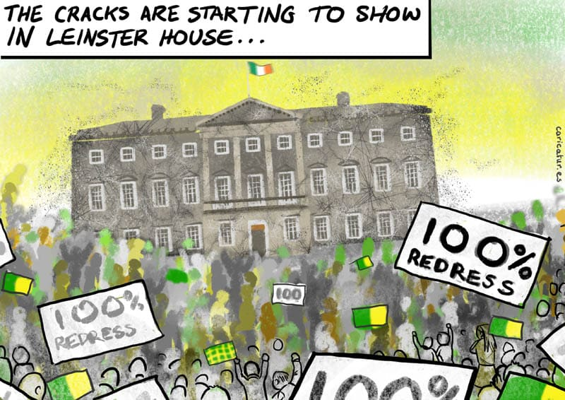 Mica Scandal Donegal Crumbling Homes 100 percent redress