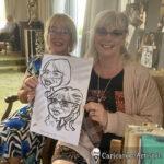 Galway Caricature Artist Wedding Reception Entertainment Gleno Abbey 1