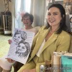 Galway Caricature Artist Wedding Reception Entertainment Gleno Abbey 10