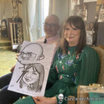 Galway Caricature Artist Wedding Reception Entertainment Gleno Abbey 12