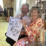 Galway Caricature Artist Wedding Reception Entertainment Gleno Abbey 5