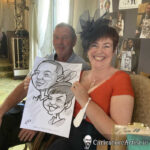Galway Caricature Artist Wedding Reception Entertainment Gleno Abbey 6