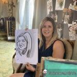 Galway Caricature Artist Wedding Reception Entertainment Gleno Abbey 9