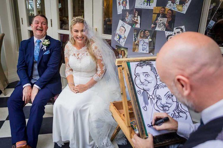 allan cavanagh caricature artist for weddings