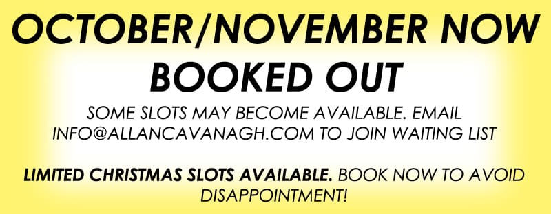 OCT NOV BOOKED OUT